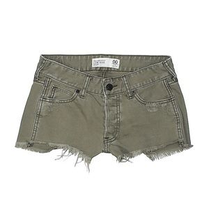 A&F Low Rise Denim Shorts (6 or 28)